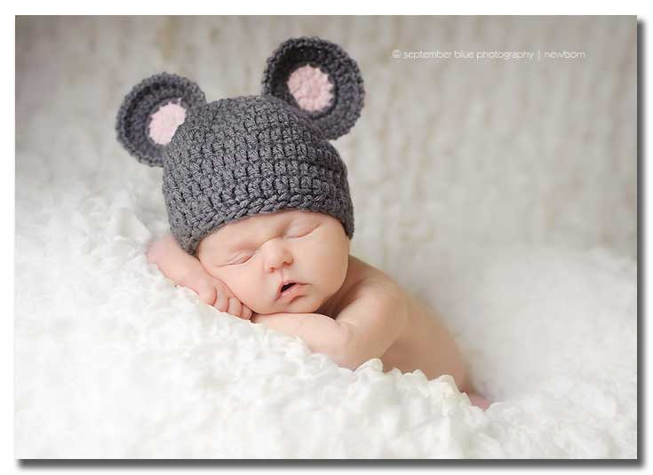 Long Island Newborn Photographer, Baby in cute hat