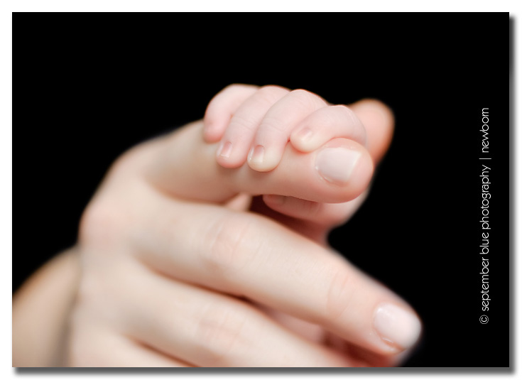 newborn tiny fingers